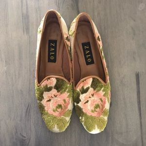 Zalo | Floral Loafers